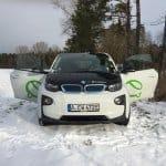 Mein Fahrtest mit dem BMW i3 Elektroauto im Winter