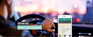 Carsharing drive-by bietet Abrechnung nach Strecke