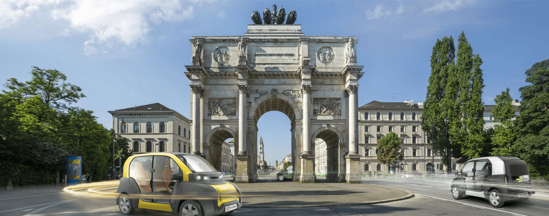 Adaptive City Mobility (ACM) präsentiert das CITY eTAXI