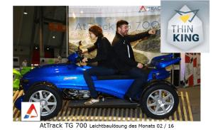 Eigenentwicklung von AtTrack - der TG 700