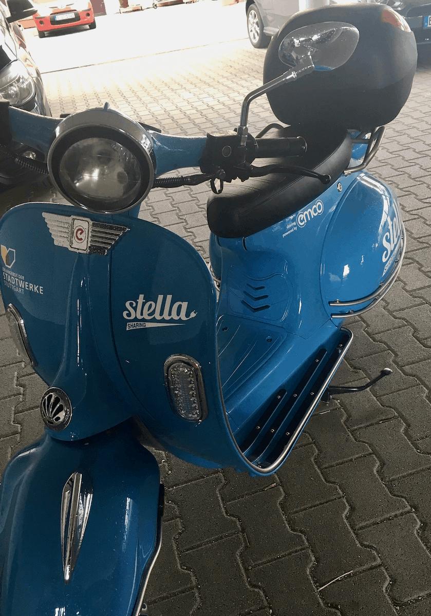 Volle Fahrt voraus - E-Roller von stella-sharing