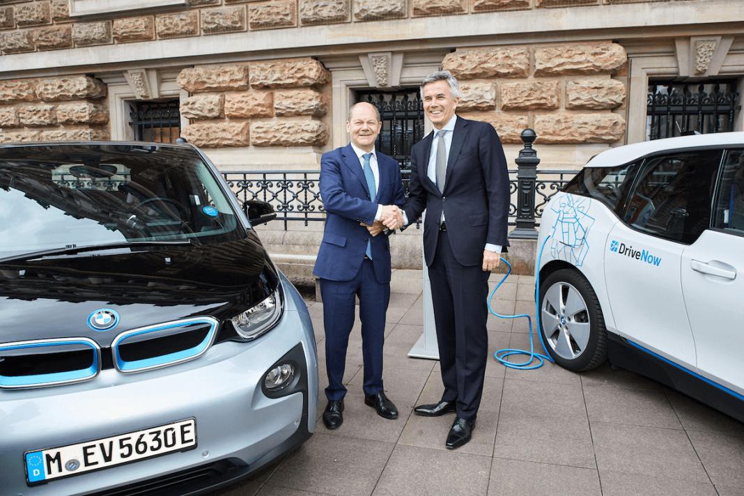 BMW und Hamburg: zusammen in die E-Zukunft