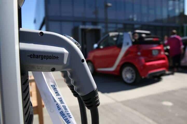 ChargePoint und Siemens