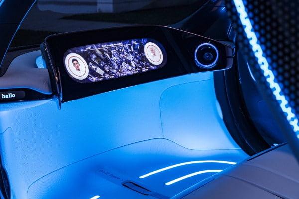 Elektrischer Smart im E-Carsharing von Daimler