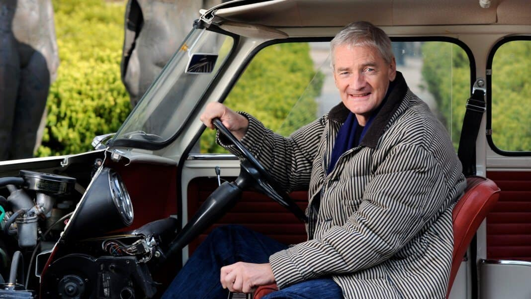 James Dyson im Mini