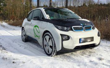 Mit dem BMW i3 im Winter