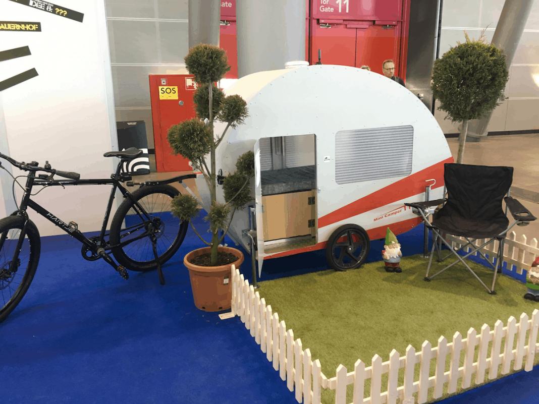 home4bike – Ein Miniwohnanhänger für's Fahrrad