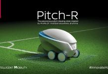 Pitch-R: Fußballfelder abstecken leicht gemacht