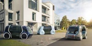 Sedric Varianten (Quelle: Volkswagen Group)