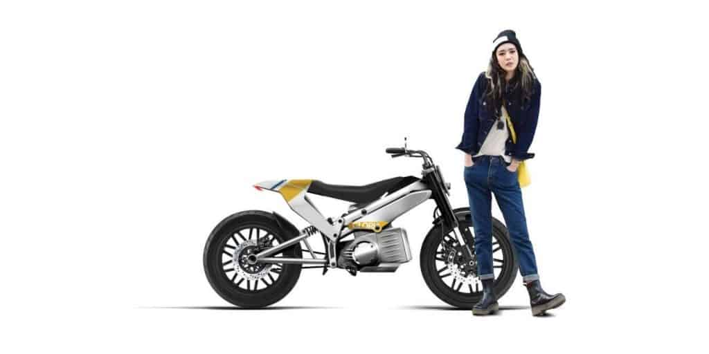 High-Fashion: Elektro-Motorrad Gloria von Gloria Factory