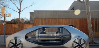 EZ-GO – Renault's Robo-Taxi