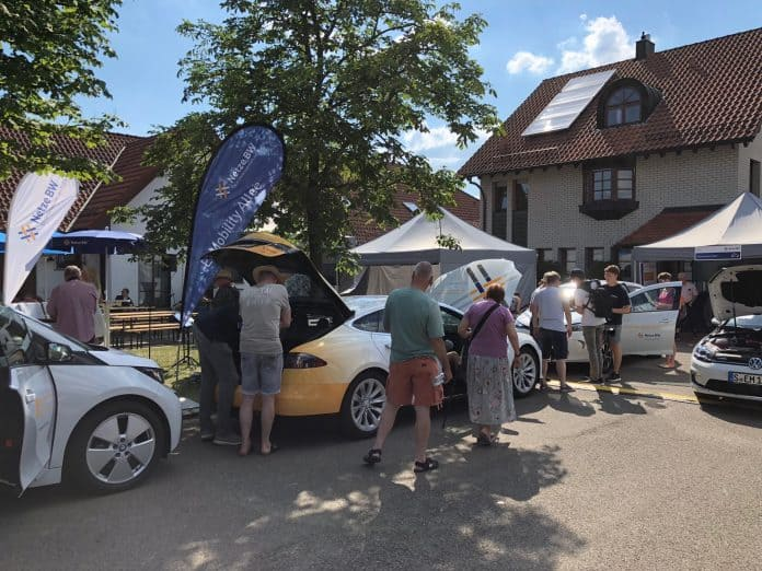 E-Mobility Allee in Ostfildern