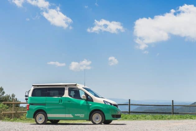 vollelektrisches Wohnmobil von Nissan auf Basis des e-NV200
