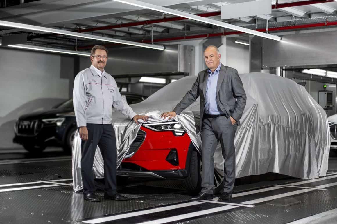 Enthüllung Audi e-tron