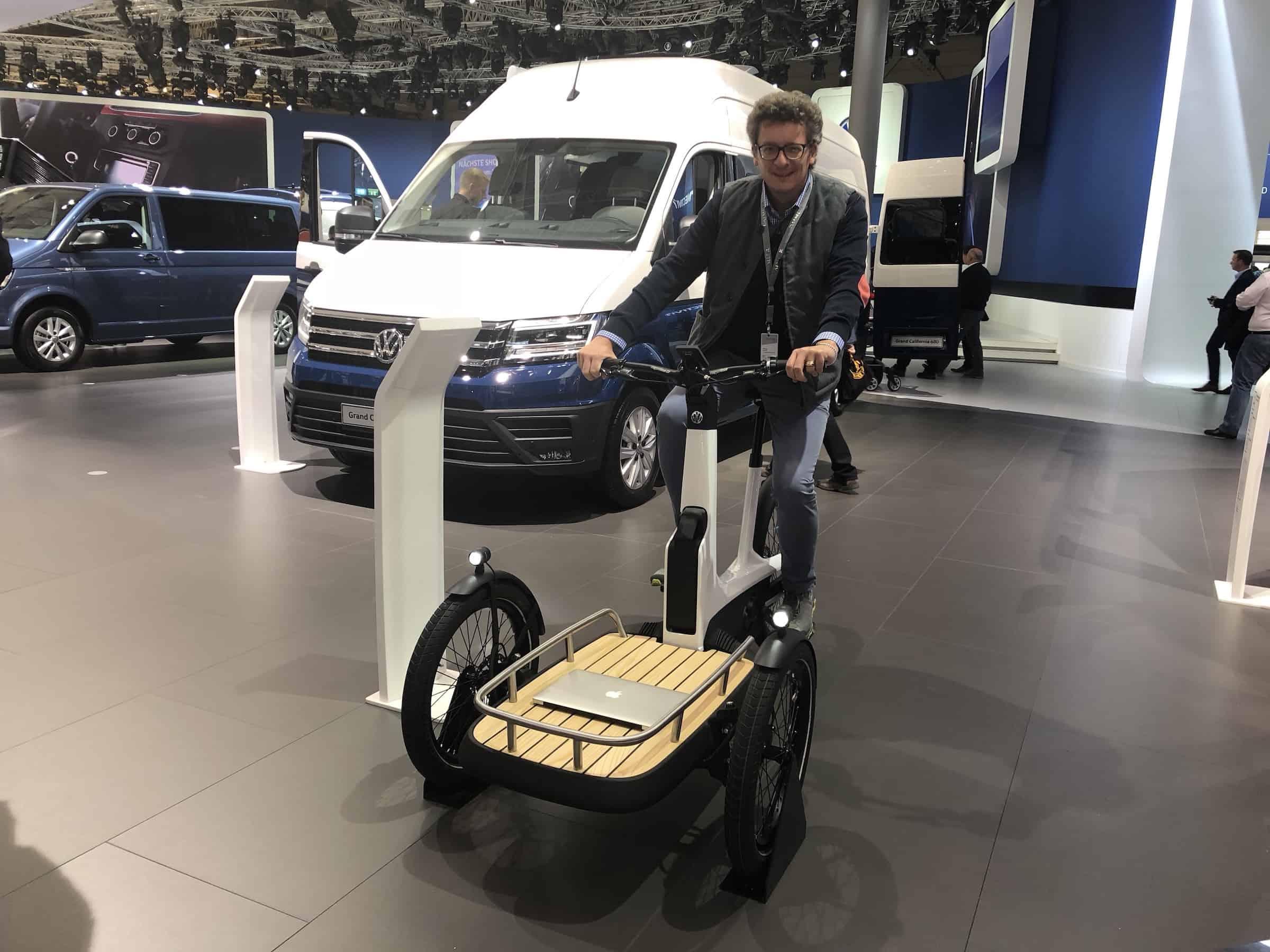 volkswagen cargo e bike vorgestellt e mobilit t blog. Black Bedroom Furniture Sets. Home Design Ideas