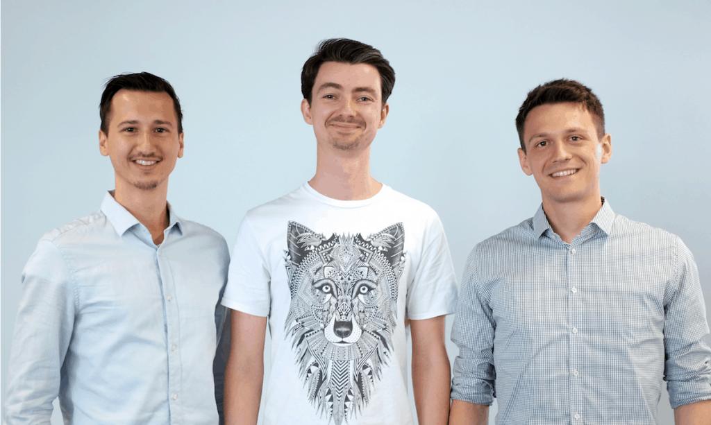 Das Vialytics-Team (v.l.): Danilo Jovicic, Achim Hoth und Patrick Glaser (Quelle: Vialytics)