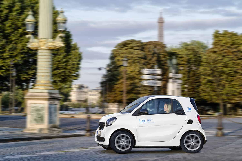 Car2go Startet Carsharing In Paris Emobilitat Der Blog