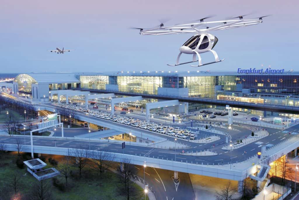 VoloCity: das erste kommerzielle Volocopter-Flugtaxi