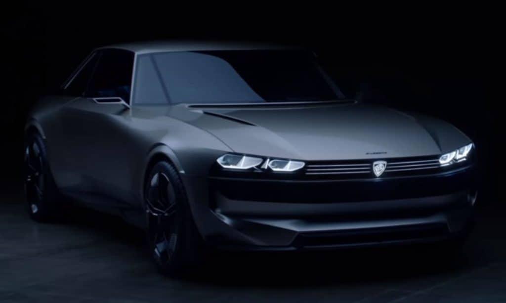 Der Peugeot e-Legend - ein elektrisches Concept Car aus Frankreich