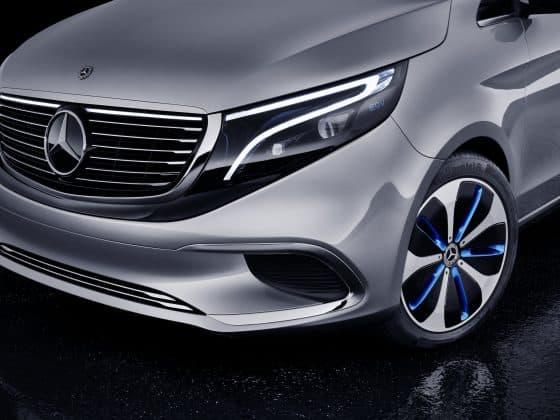 Mercedes-Benz zeigt den ersten elektrischen Van als Concept EQV