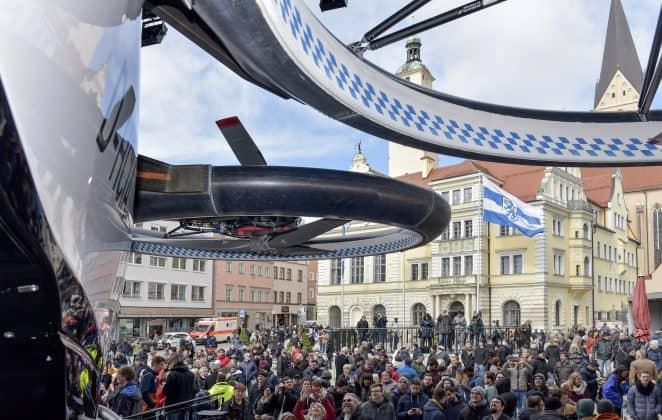 Drohnen und Flugtaxis in 5 Pilotregionen mit Millionen gefördert