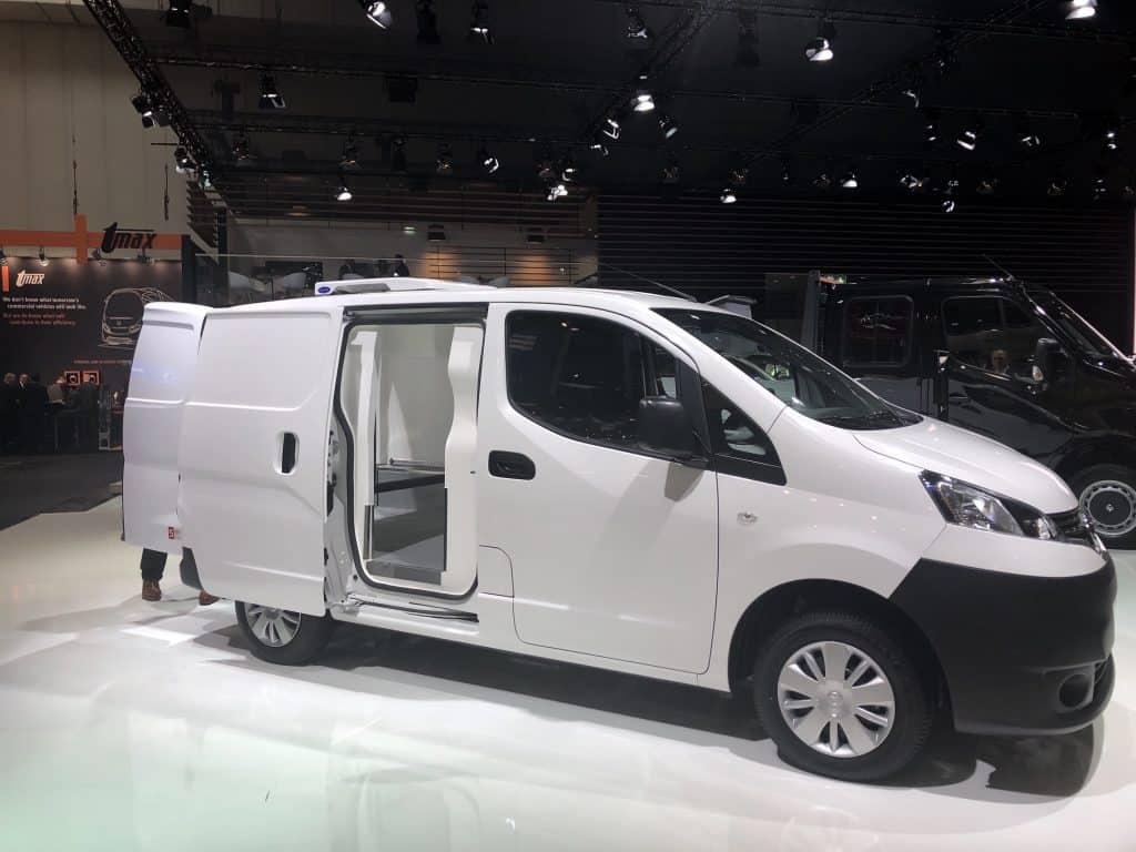 Nissan e-NV200: vielseitiger elektrischer Kleintransporter