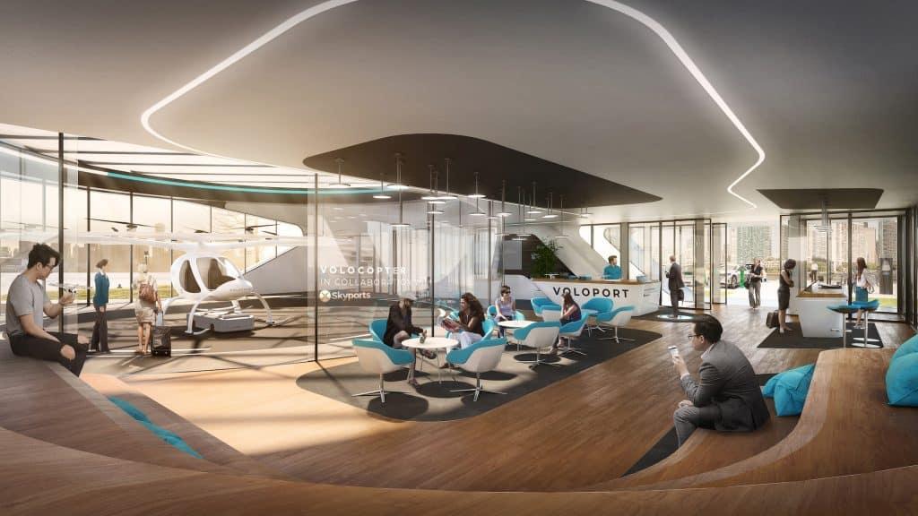 Volo-Ports: erste Infrastruktur für die Einführung der Flugtaxis
