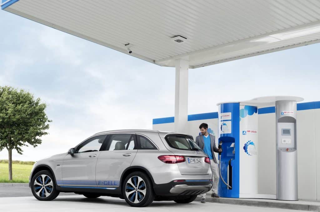 Wasserstoff-Autos - Brennstoffzellen-Fahrzeuge