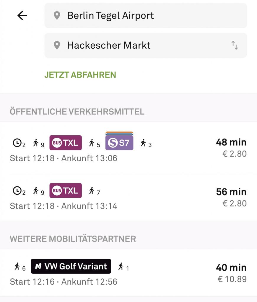 Deutschlands Städte werden multimodal