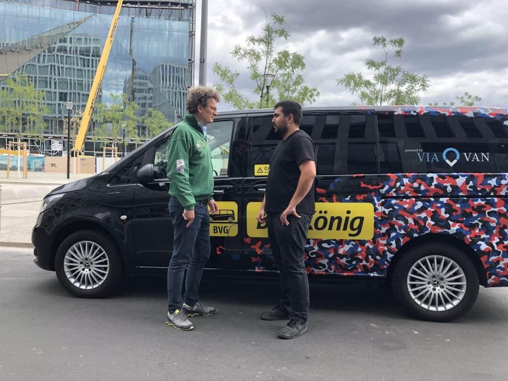 Das Joint Venture ViaVan von Daimler und dem amerikanischen Ride-Sharing Spezialisten Via