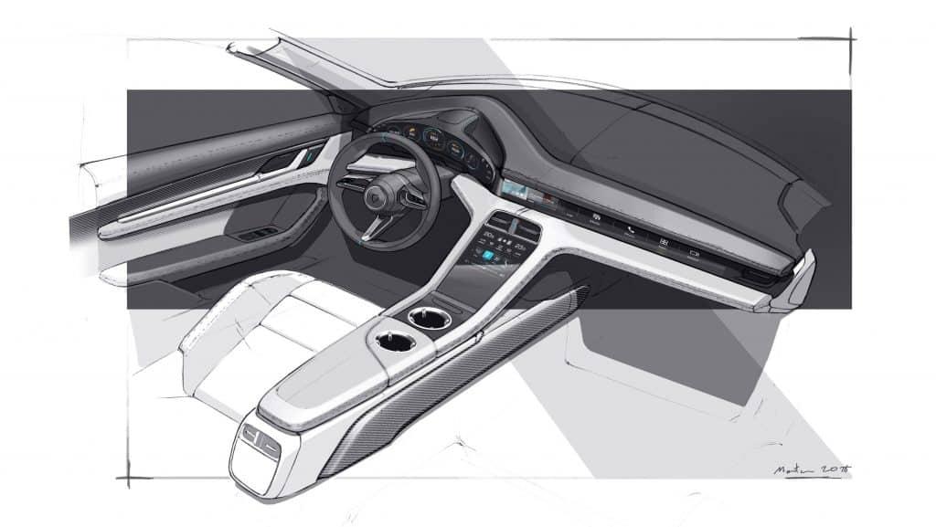 Piëch Tod und News vom Interieur des elektrischen Porsche Taycan