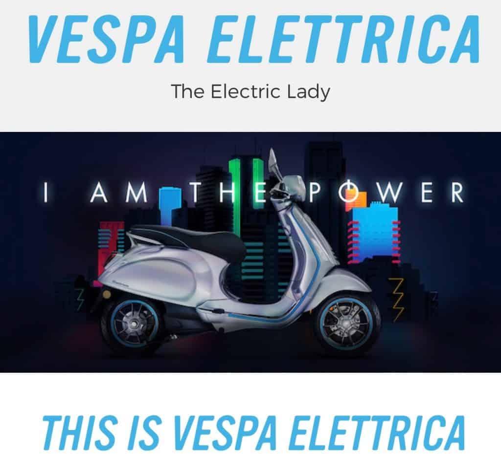 Vespa Elettrica - der Kultroller aus Italien wird elektrisch