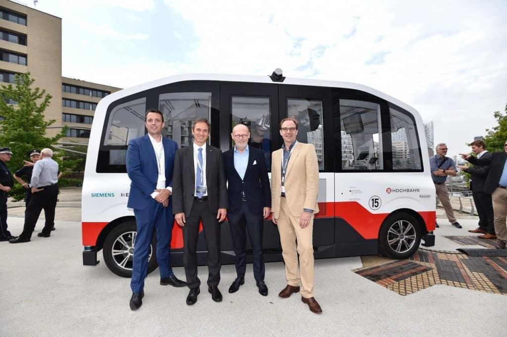 HEAT in Hamburg: autonomer Shuttlebus ab Mitte 2020