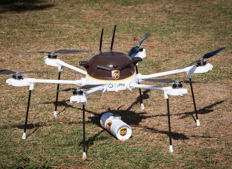 Drohnen in der Logistik: die Paketauslieferungen der Zukunft?
