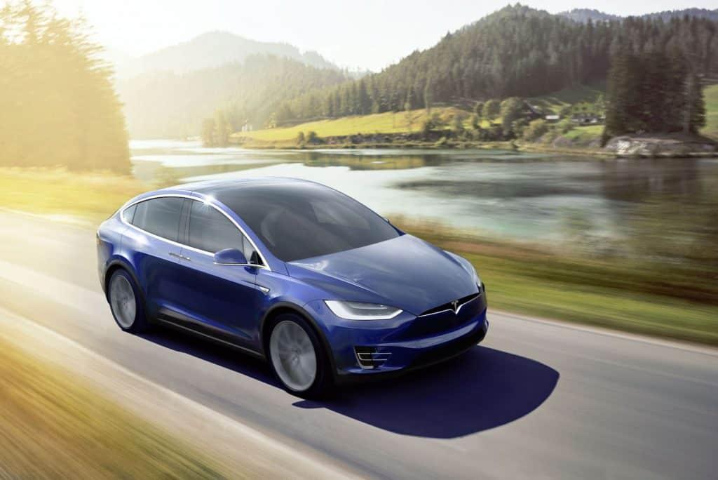 Tesla Model X: das elektrische SUV von Elektroautohersteller Tesla