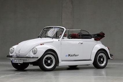 VW e-Käfer: der historische Kultwagen in Zukunft mit e