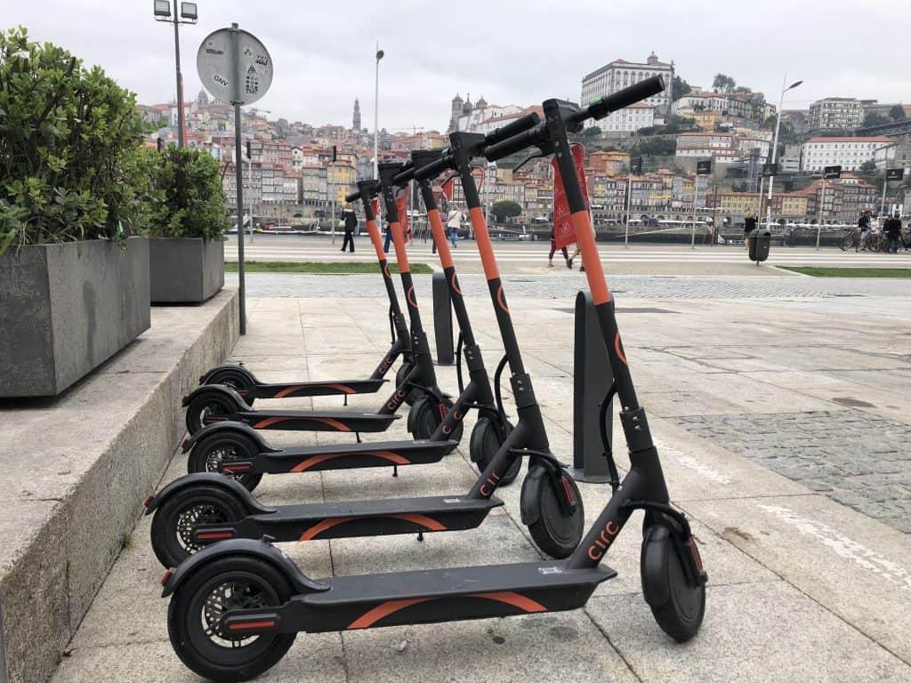 E-Scooter Sharing in Porto - so wird das gemacht
