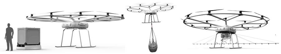 Volocopter stellt VoloDrone für Logistikeinsatz vor