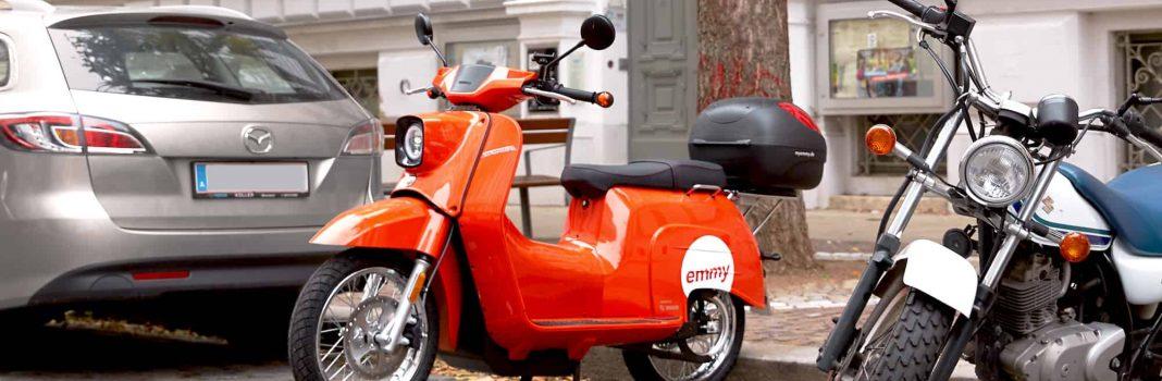Bildrechte: emmy - E-Moped Sharing mit der elektrischen Schwalbe