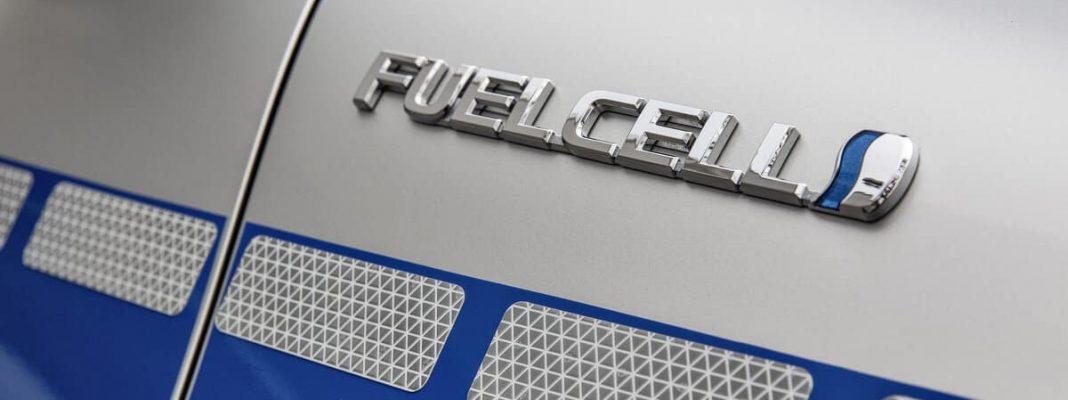 Bildrechte: Toyota - Brennstoffzellen Auto - Wasserstoff Fahrzeug
