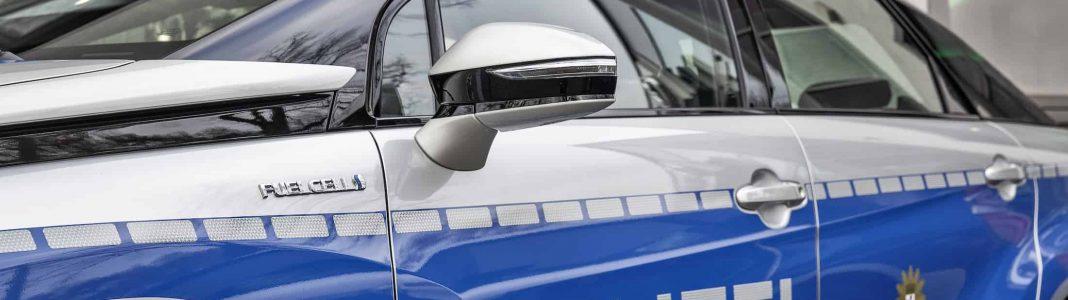 Bildrechte: Toyota Mirai - Wasserstoff Auto für die Polizei in Berlin