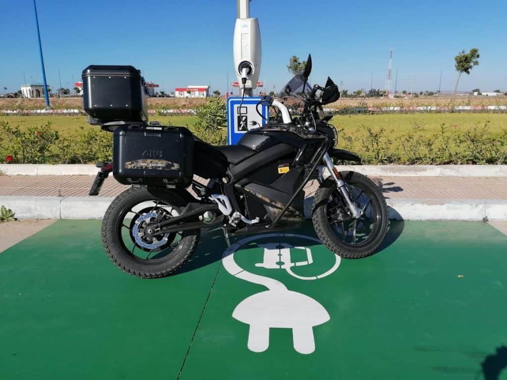 15.000 km durch Afrika mit dem Elektromotorrad Zero DSR
