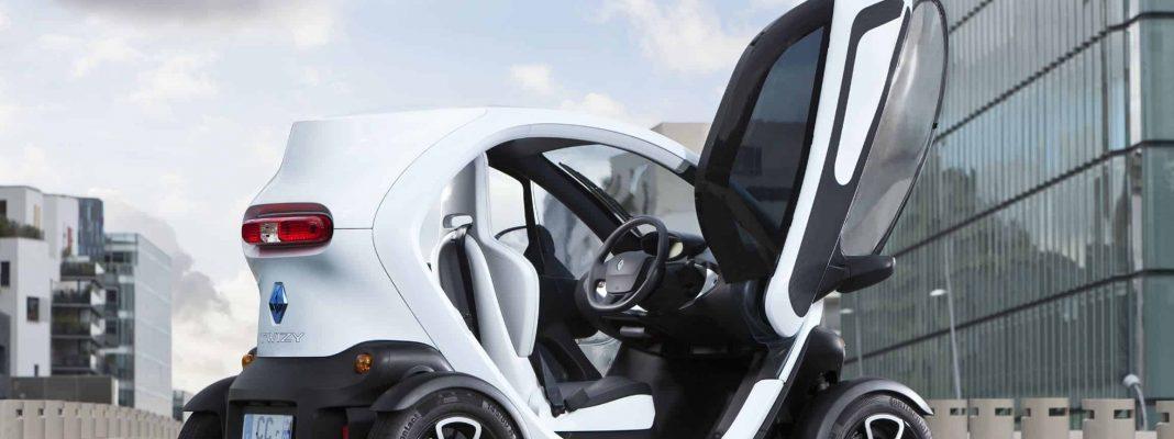 Bildrechte Renault - der Twizy als Leichtmobil Stadtflitzer