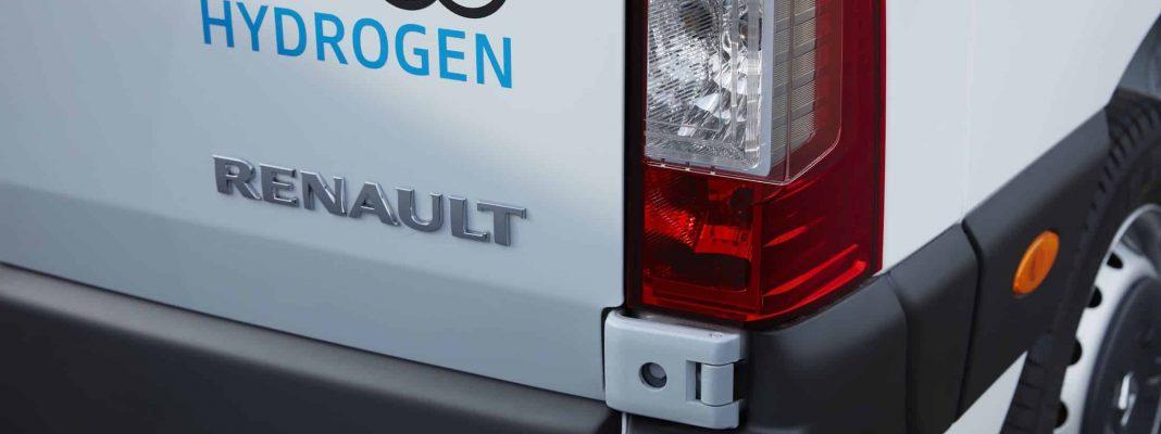 Bildrechte: Renault - Wasserstoff Nutzfahrzeuge Kangoo Z.E. Hydrogen und Master Z.E. Hydrogen