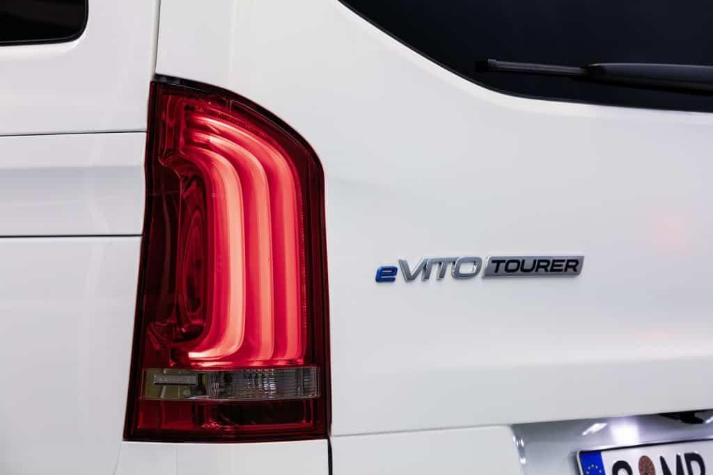 Mercedes-Benz eVito Tourer für die Nutzfahrzeug-Flotte oder privat