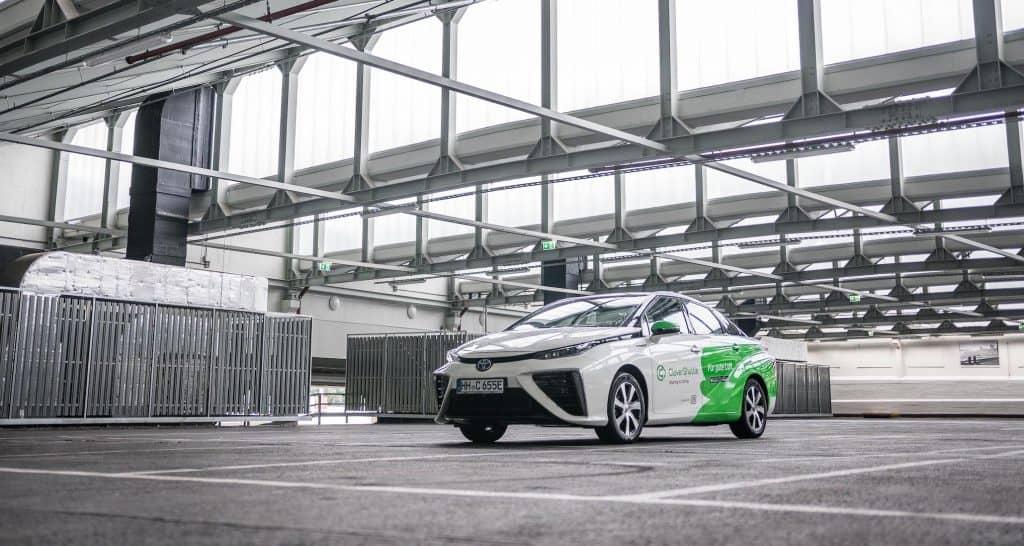 Toyota Mirai und Clevershuttle - die weltweit meistgenutzte Wasserstoff Flotte
