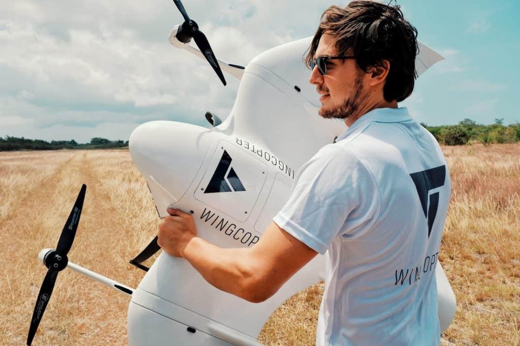 Wingcopter: Elektrische Transportdrohnen aus Darmstadt