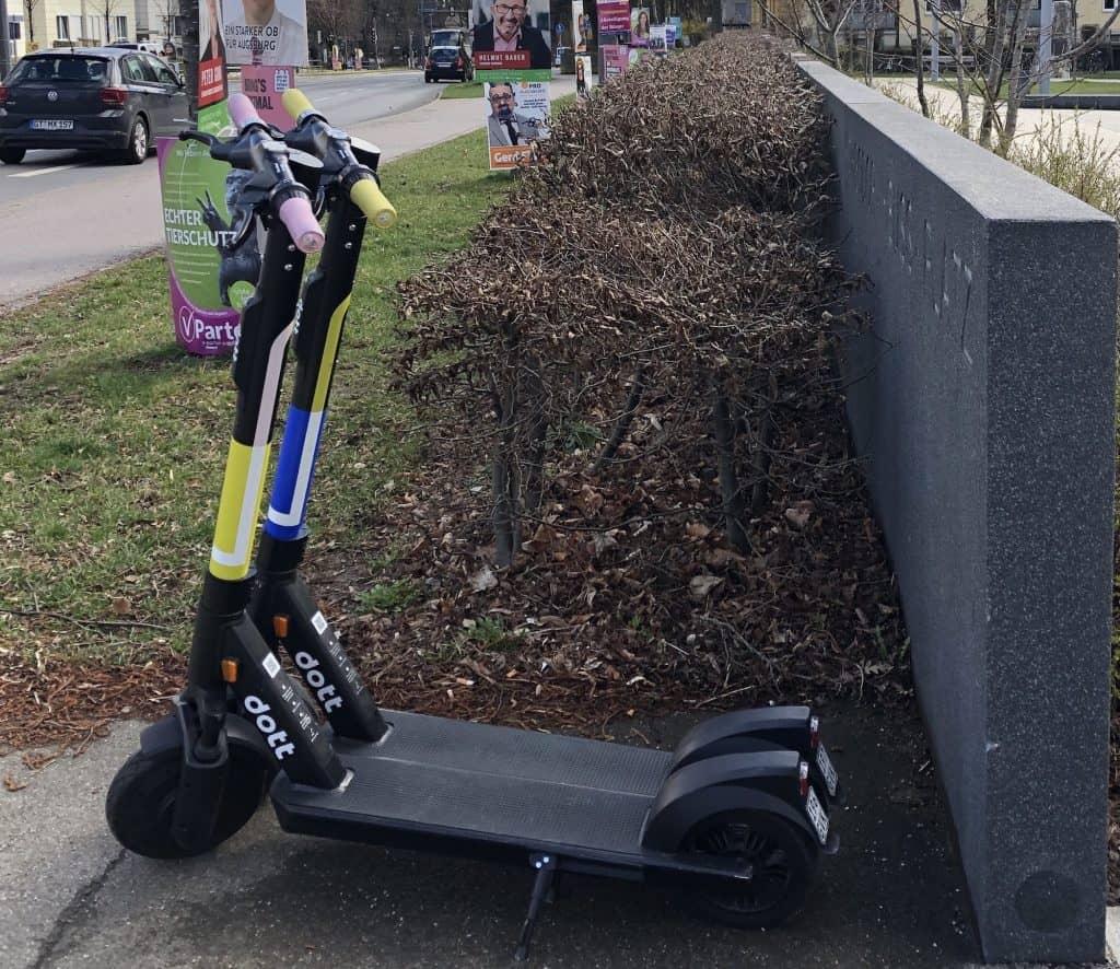 Der etwas andere E-Scooter Anbieter dott aus Amsterdam
