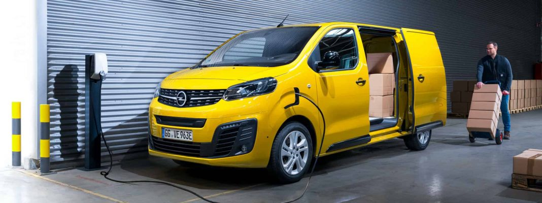 Bildrechte: Opel Vivaro-e - der elektrische Transporter für die letzte Meile