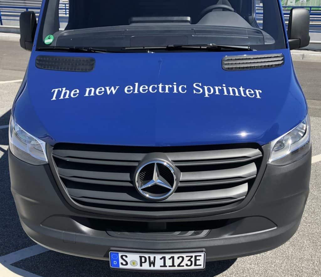 Elektrische Transporter eVito und eSprinter im Praxiseinsatz